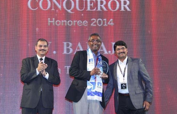 Sourcing Shogun: V Balaji, CIO of Tata Technologies receives the CIO100 Special Award for 2015 constituted in association with Canon