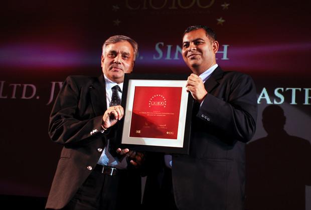 The Agile 100: Karanbir Singh, Vice President, Reliance Infrastructure receives the CIO100 Award for 2010