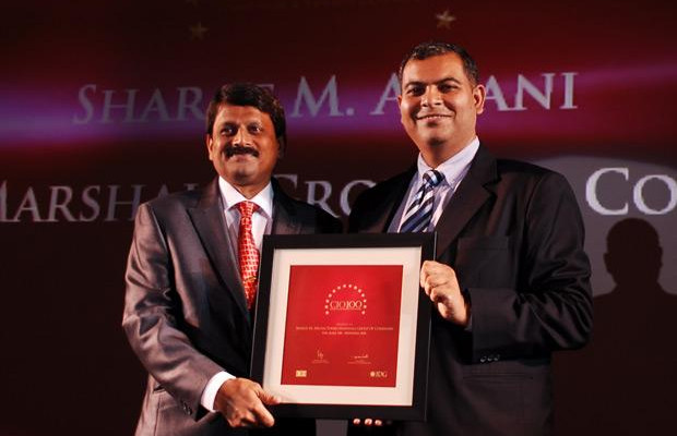 The Agile 100: Sharat M Airani, Chief IT (System and Security) of Forbes Marshall Group of Companies receives the CIO100 Award for 2010