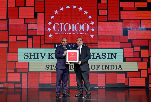 The Digital Architect: Shiv Kumar Bhasin, CTO, State Bank of India, receives the CIO100 award for 2018