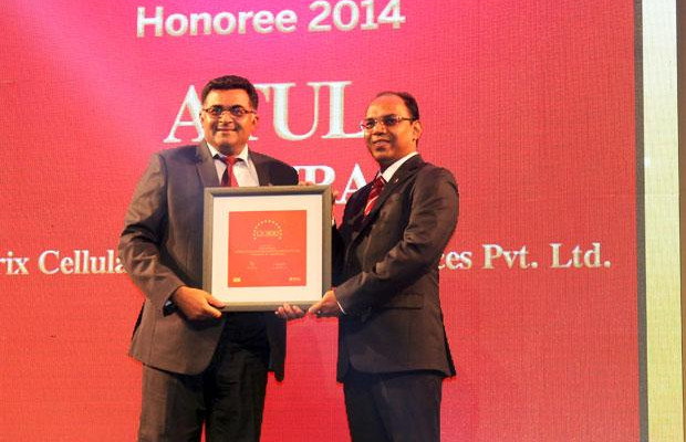 The Dynamic 100: Atul Luthra, Vice President - IT of Matrix Cellular International receives the CIO100 Award for 2014