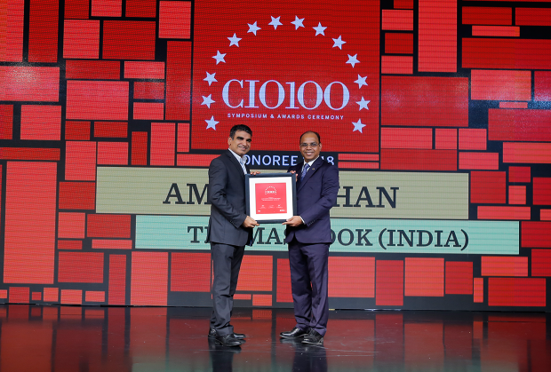 The Digital Architect: Amit Madhan, Group Head-IT & eBusiness, Thomas Cook India receives the CIO100 Award for 2018