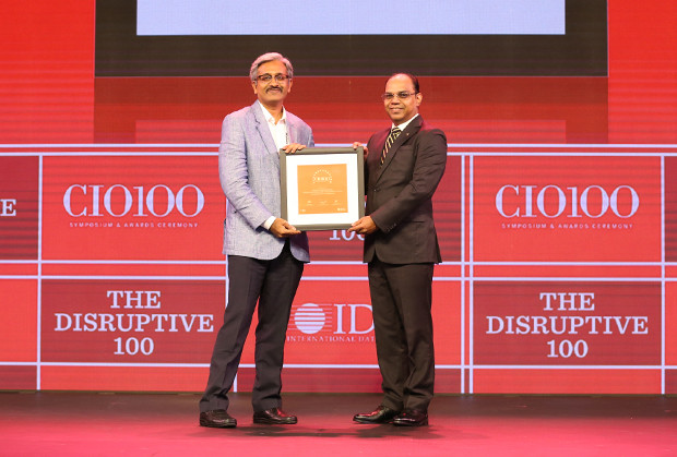 The Disruptive 100: Ananth Subramanian, Senior VP and Head of IT, Kotak Mahindra Asset Management receives the CIO100 Award for 2019