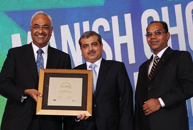 Super League: Manish Choksi, President-IT of Asian Paints India receives the CIO100 Special Award for 2012