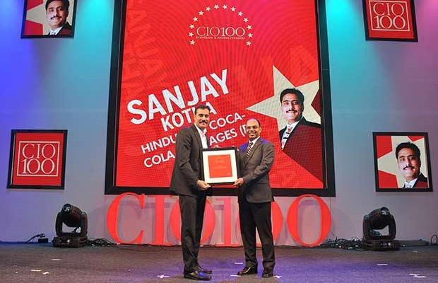 The Transformative 100: Sanjay Kotha, Senior VP and CIO of Hindustan Coca-Cola Beverages receives the CIO100 Award for 2016