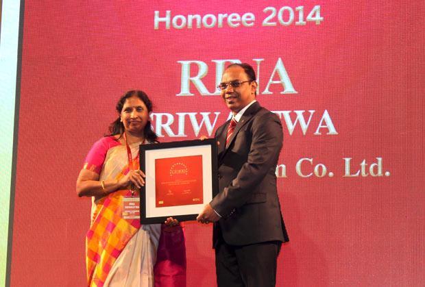The Dynamic 100: Rina Sriwastwa, Head- IT of Bharat Aluminium receives the CIO100 Award for 2014