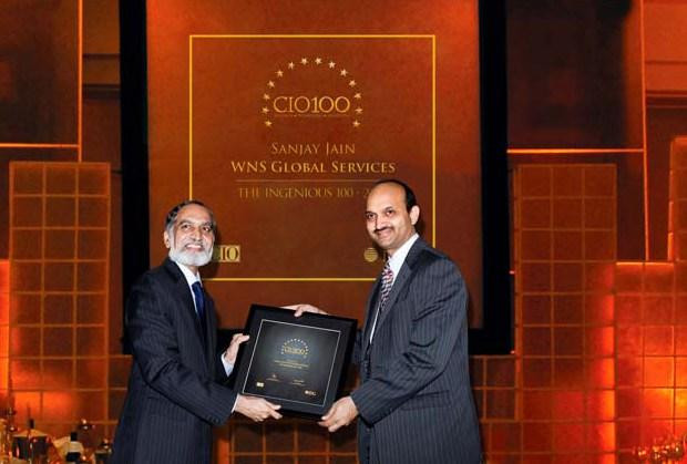 The Ingenious 100: Sanjay Jain, Chief Strategy Officer of WNS Global Services receives the CIO100 Award for 2009