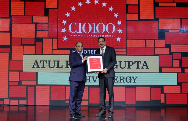 The Digital Architect: Atul Kumar Gupta,GM– IT at SHV Energy receives the CIO100 Award for 2018