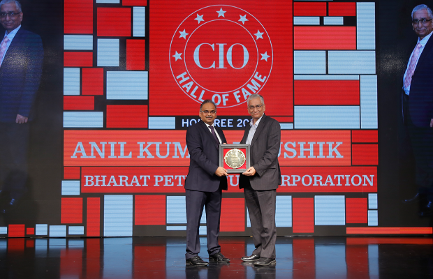 Hall of Fame: Anil Kumar Kaushik, ED (IS) Group Refineries, Bharat Petroleum Corporation receives the CIO100 Special Award for 2018