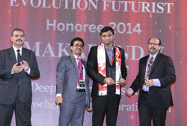 Infrastructure Evolution Futurist: Makarand Sawant, GM-IT of Deepak Fertilizers & Petrochemicals receives the CIO100 Special Award for 2014 , constituted in association with Netmagic