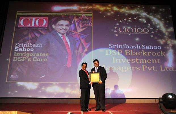 The Creative 100: Srinibash Sahoo, Senior VP & Head-Technology, DSP Blackrock Investment Managers receives the CIO100 Award for 2011