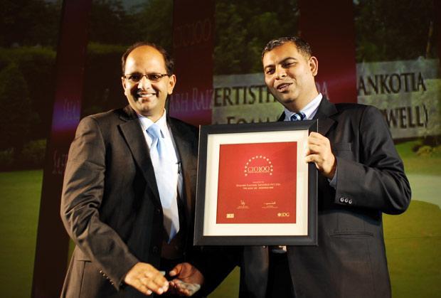 The Agile 100: Shalabh Raizada, VP - IT of Safexpress receives the CIO100 Award for 2010