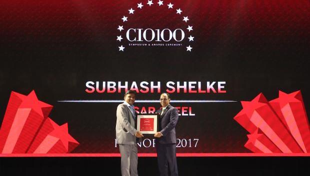 The Digital Innovators: Subhash Shelke, VP of Essar receives the CIO100 Award for 2017