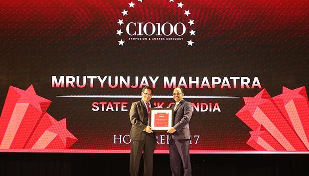 The Digital Innovators: Mrutyunjay Mahapatra, Deputy Managing Director and CIO at State Bank of India receives the CIO100 Award for 2017