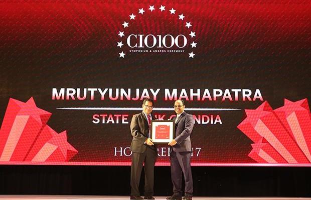 The Digital Innovators: Mrutyunjay Mahapatra, Deputy Managing Director and CIO at State Bank of India receives the CIO100 Award for 2017