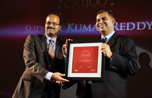 The Agile 100: Sudhir Kumar Reddy, VP & CIO, Mindtree receives the CIO100 Award for 2010