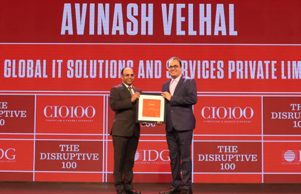 The Disruptive 100: Avinash Velhal, VP & CIO – APAC & ME at Atos Global IT Solutions and Services receives the CIO100 Award for 2019