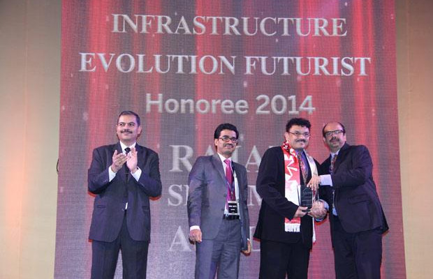 Infrastructure Evolution Futurist: Rajat Sharma, President-IT of Atul receives the CIO100 Special Award for 2014 in association with Netmagic