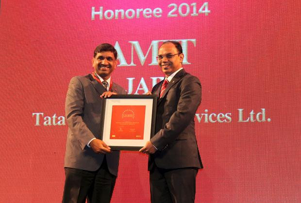 The Dynamic 100: Amit Jain, Global Head-Infrastructure Services of Tata Consultancy Services receives the CIO100 Award for 2014