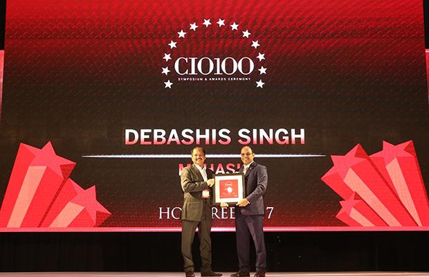 The Digital Innovators: Debashis Singh, Senior VP and CIO of Mphasis receives the CIO100 Award for 2017