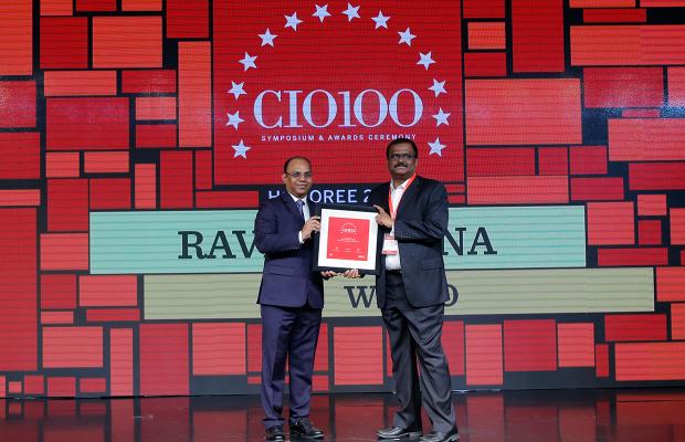 The Digital Architect: Ravi Kethana, VP Engineering, Wipro receives the CIO100 Award for 2018