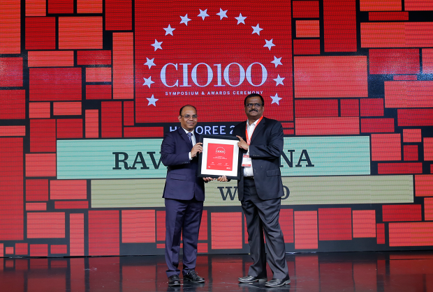 The Digital Architect: Ravi Kethana, VP Engineering, Wipro receives the CIO100 Award for 2018