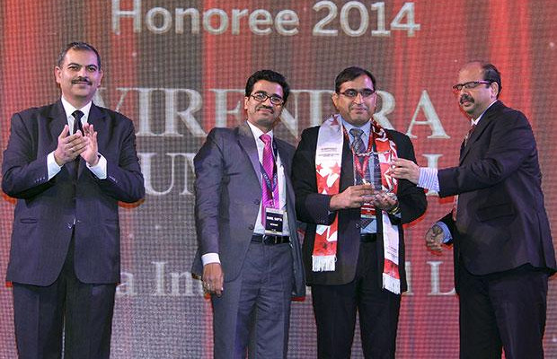 Infrastructure Evolution Futurist: Virendra Kumar Rai, VP and Head-IT, Lava International receives the CIO100 Special Award for 2014 in association with Netmagic