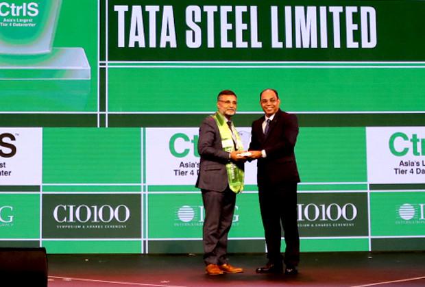 Business Transformer: Tata Steel awarded the CIO100 Special Award for 2019