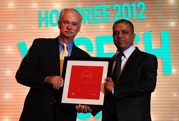 The Resilient 100: Yogesh Zope, Group CIO, Bharat Forge receives the CIO100 Award for 2012.