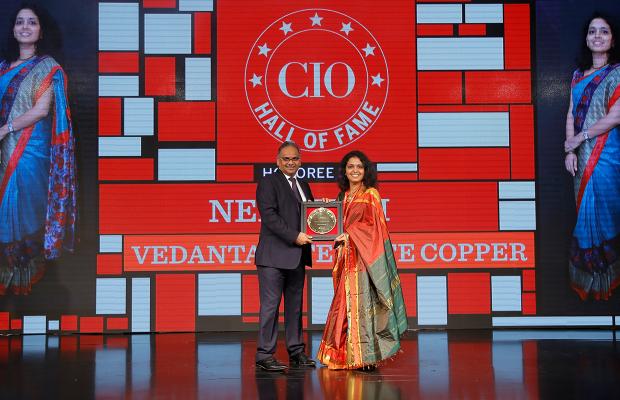Hall of Fame: Neha Kini, Head– IT, Vedanta - Sterlite Copper receives the CIO100 special award for 2018