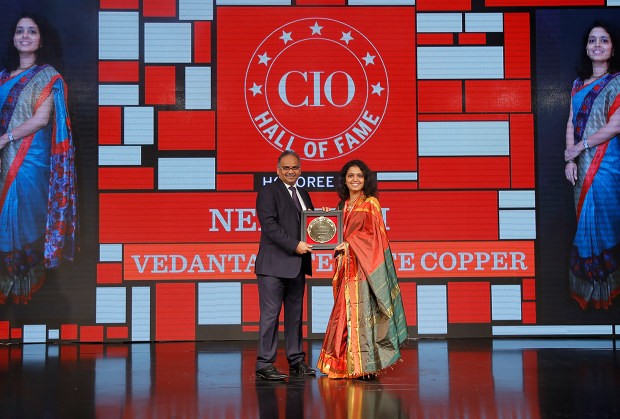 Hall of Fame: Neha Kini, Head– IT, Vedanta - Sterlite Copper receives the CIO100 special award for 2018