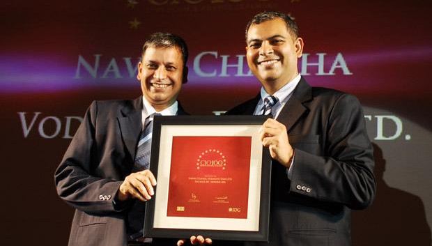 The Agile 100: Navin Chadha, Director IT of Vodafone India receives the CIO100 Award for 2010
