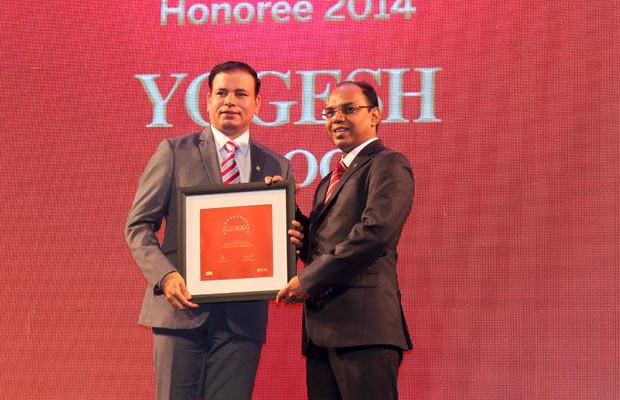 The Dynamic 100: Yogesh Kapoor, Head IT of HSBC Technology and Services receives the CIO100 Award for 2014