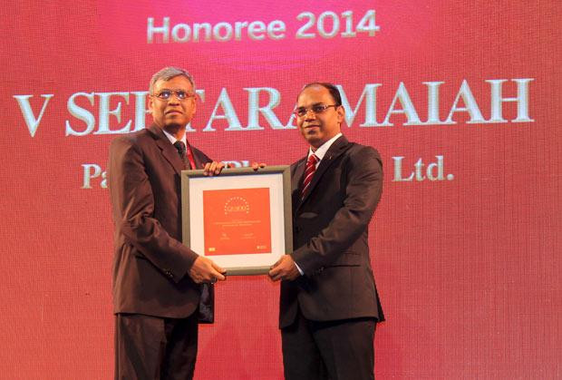 The Dynamic 100: V Seetharamiah, CIO of Paradeep Phosphates receives the CIO100 Award for 2014