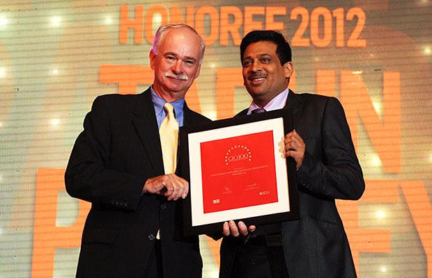 The Resilient 100: Tarun Pandey, Senior VP-IT of Aditya Birla Financial receives the CIO100 Award for 2012