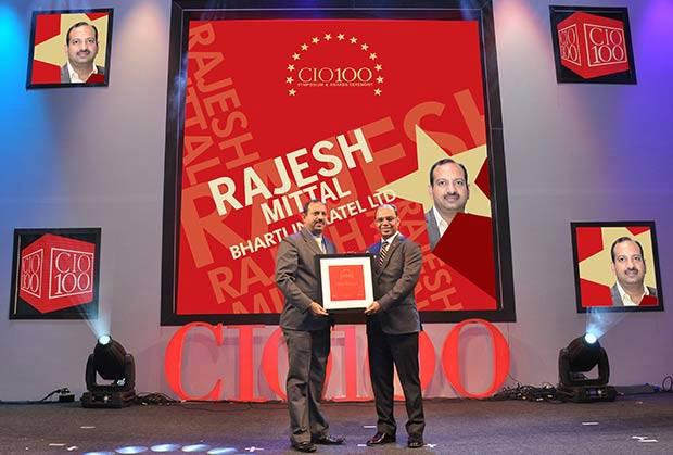 The Transformative 100: Rajesh Mittal, Head-Operation IT Infrastructure, Bharathi Infratel receives CIO100 Award for 2016