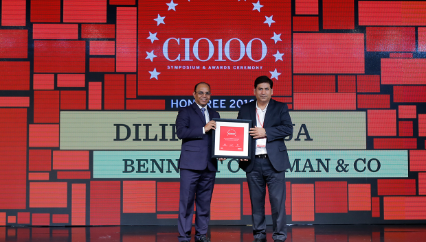 The Digital Architect: Dilip Kukreja, VP & Chief Innovations Officer- IT at Bennett Coleman & Co. receives the CIO100 Award for 2018