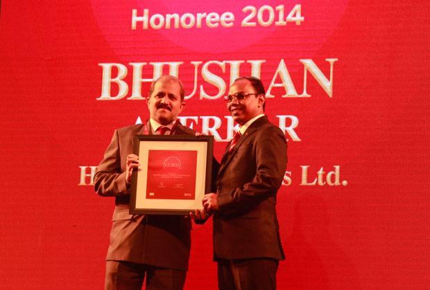 The Dynamic 100: Bhushan Akerkar, CIO of Hindalco Industries receives the CIO100 Award for 2014