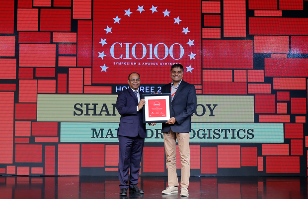 The Digital Architect: Shantanu Roy, CIO, Mahindra Logistics receives the CIO100 Award for 2018