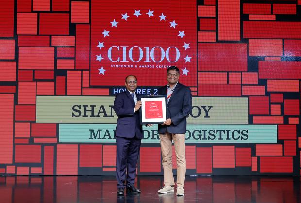 The Digital Architect: Shantanu Roy, CIO, Mahindra Logistics receives the CIO100 Award for 2018