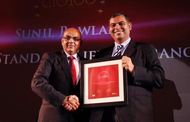 The Agile 100: Sunil Rawlani, EX. EVP of HDFC Life Insurance receives the CIO100 Award for 2010