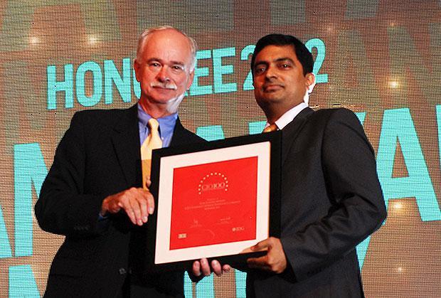 The Resilient 100: Ram Kalyan Medury, CIO of ICICI Lombard General Insurance receives the CIO100 Award for 2012