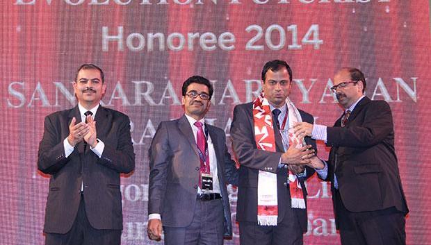 Infrastructure Evolution Futurist: Sankaranarayanan Raghavan, COO of Aegon Religare Life Insurance receives the CIO100 Special Award for 2014 in association with Netmagic