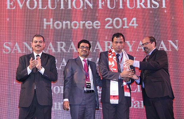 Infrastructure Evolution Futurist: Sankaranarayanan Raghavan, COO of Aegon Religare Life Insurance receives the CIO100 Special Award for 2014 in association with Netmagic