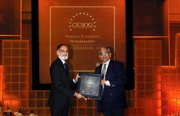 The Ingenious 100: Suresh R Shenoy, Sr. VP-IT of Wockhardt receives the CIO100 Award for 2009
