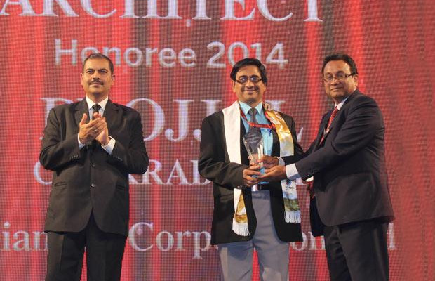 Innovation Architect: Projjal Chakrabarty, Executive Director-IS at Indian Oil Corporation (IOCL) receives the CIO100 Special Award for 2014 in association with Wipro