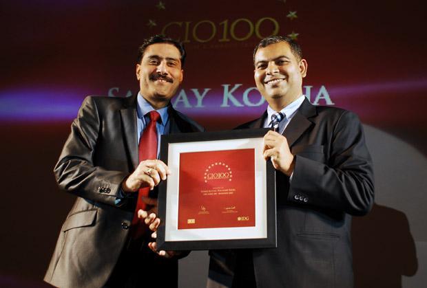 The Agile 100: Sanjay Kotha, CIO of Walmart India receives the CIO100 Award for 2010