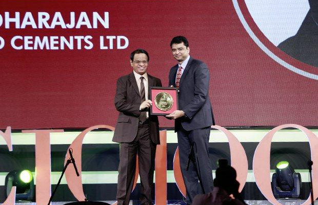 Hall of Fame: N Vardharajan, AVP IT, The Ramco Cements receives the CIO100 Special Award for 2015