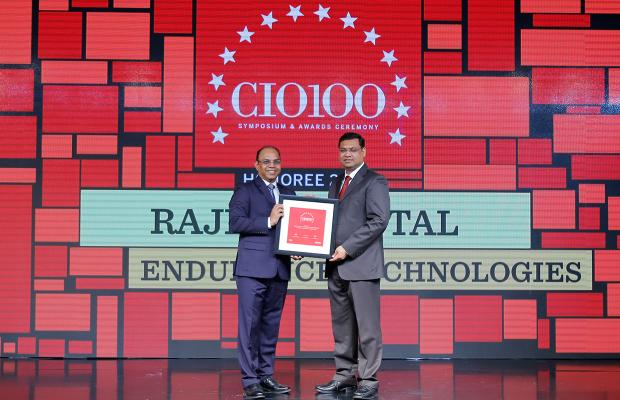 The Digital Architect: Rajeev Mittal, CIO, Endurance Technologies, receives the CIO100 award for 2018