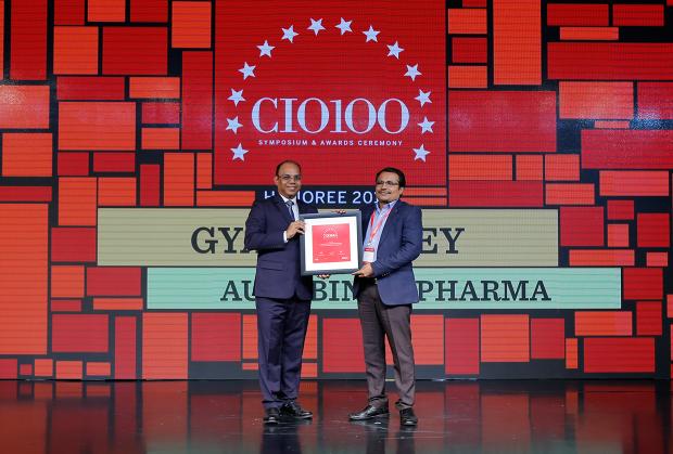 The Digital Architect: Gyan Pandey, CIO at Aurobindo Pharma receives the CIO100 Award for 2018